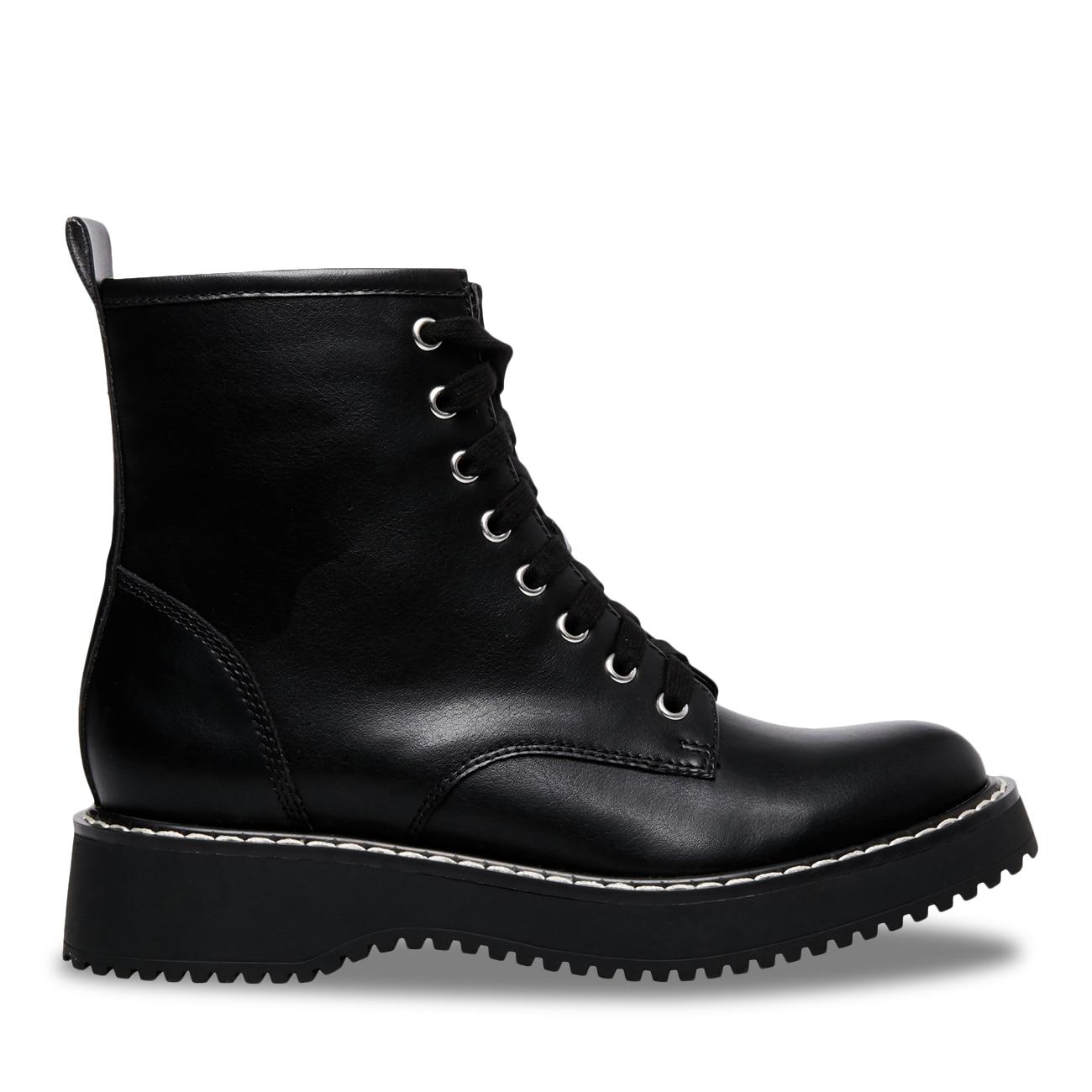 Madden Girl Women/'s Kurrt Synthetic Combat Boot