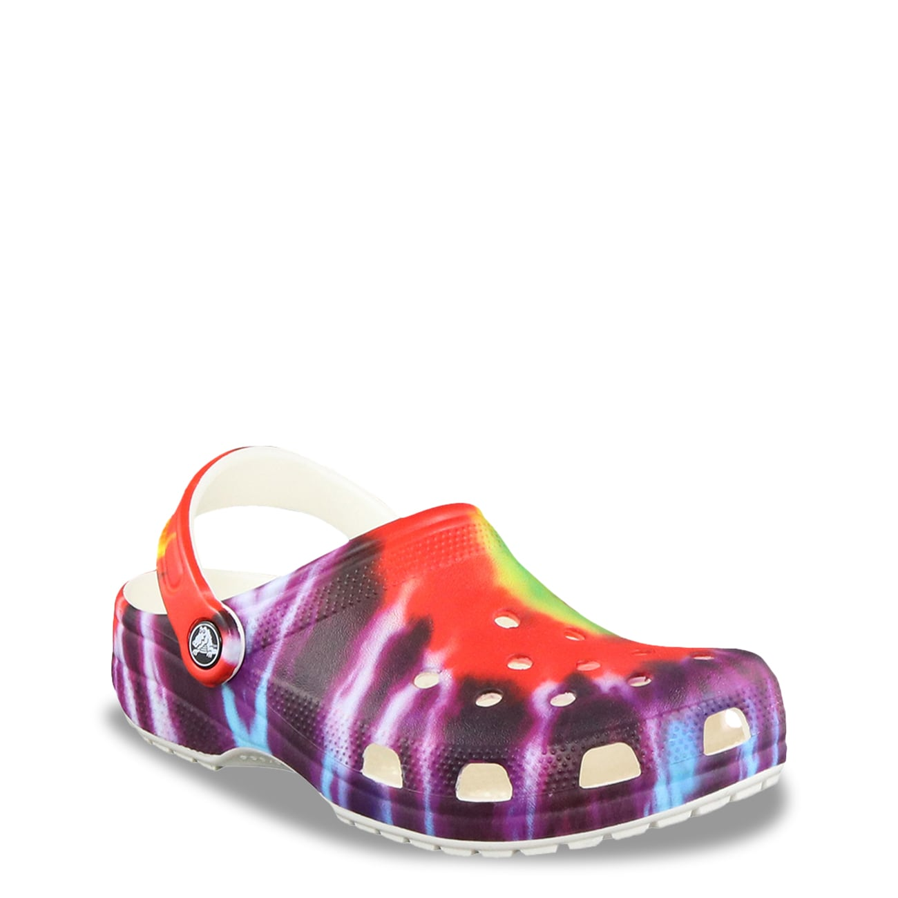 Crocs Kids Classic Tie Dye Mania Clog