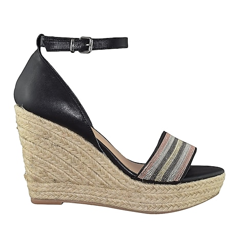 a332ab93b Mariel Wedge Sandal. BLEECKER   BOND