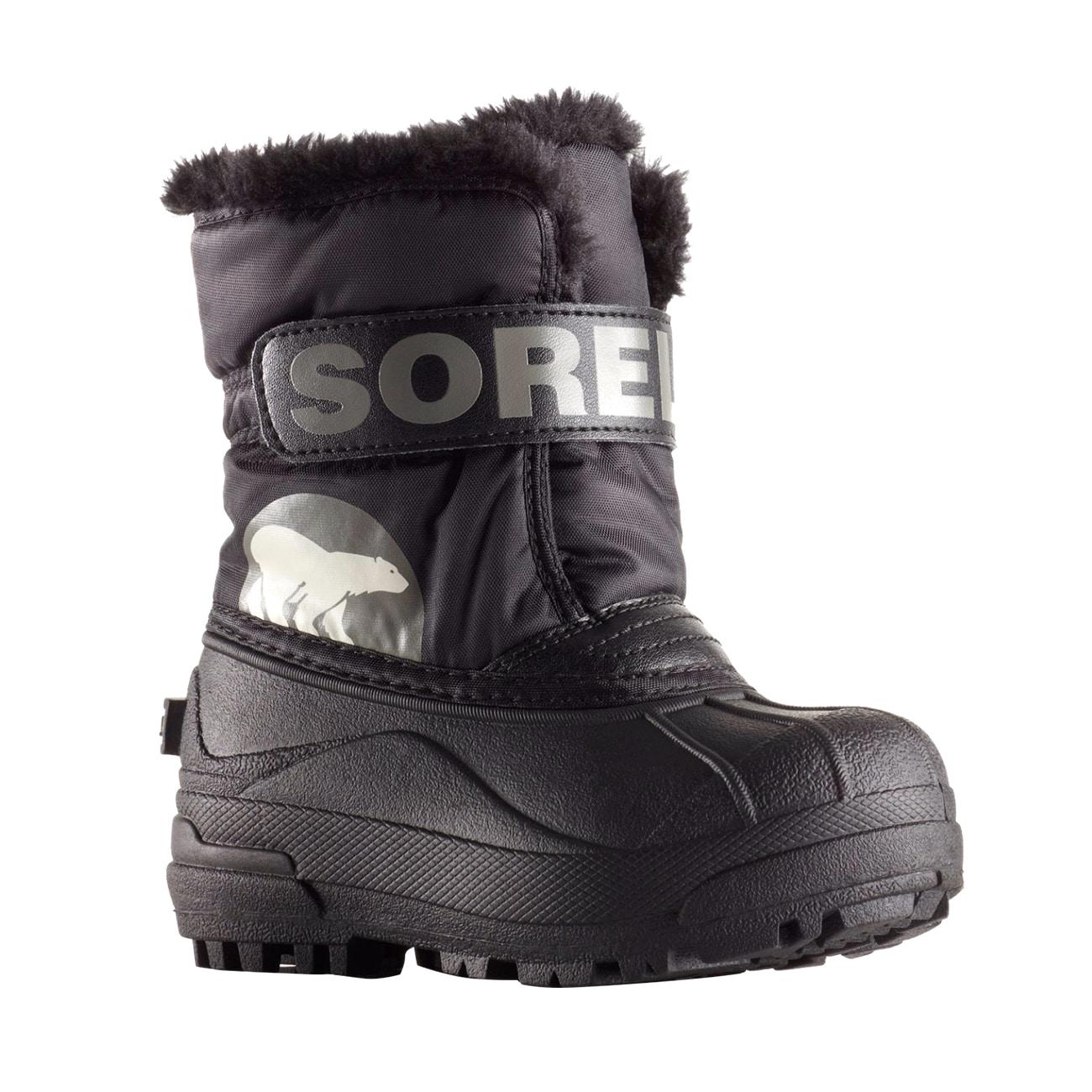 Sorel Toddler Snow Commander Boot for Rain and Snow Size 4 Khaki II Waterproof